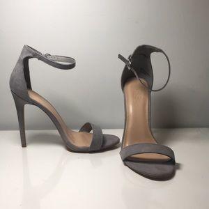 Grey Charlotte Russe high heel size 7